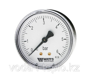 Манометр d=63mm 6 бар(MDA63/6)