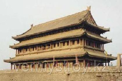 кирпичная пагода древнего Китая