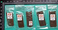Сверло из нержавеющей стали с добавкой кобальта HSS (M35), с диаметрами от 1,6 мм до 2,0 мм.