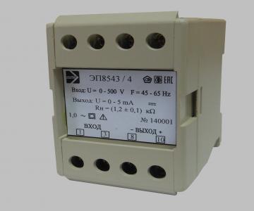 ЭП8543 Преобразователи измерительные напряжения переменного тока, Электроприбор