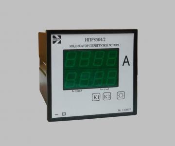 ИПС8503 Индикаторы перегрузки тока статора ИПС8503 и ротора ИПР8504, Электроприбор