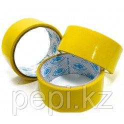 Скотч желтого цвета 3,5 см x 0,3 см