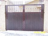 Распашные   ворота , фото 2