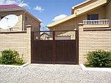 Распашные   ворота , фото 3