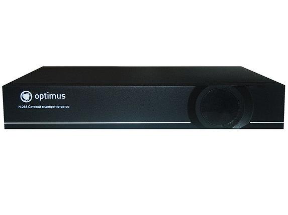 IP  видеорегистратор Optimus NVR-5041, фото 2