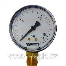 Манометр d=100mm 16 бар (MDR100/16)