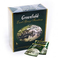 Чай Greenfield Earl Grey Fantasy Tea, 100 пакетиков
