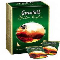 Чай Greenfield Golden Ceylon Tea, 100 пакетиков