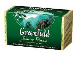 Чай Greenfield Jasmine Dream Green Tea, 25 пакетиков