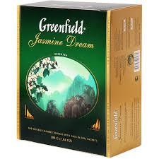 Чай Greenfield Jasmine Dream Green Tea, 100 пакетиков