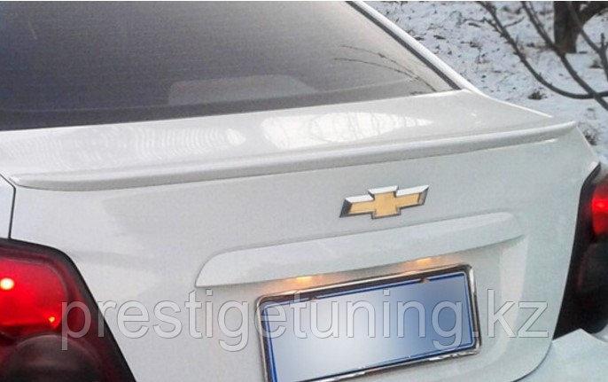 Спойлер на багажник Aveo 2011-15