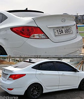 Спойлер на багажник Hyundai Accent 2011-15