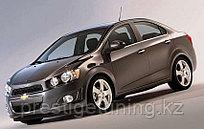 Козырек (спойлер) на заднее стекло Chevrolet Aveo 2005-11