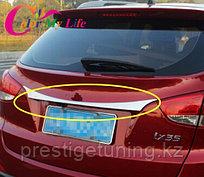 Хром на багажник Hyunda IX45 Santa Fe 2013-15
