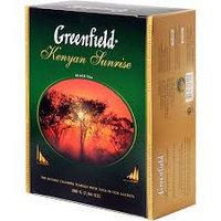 Чай Greenfield Kenyan Sunrise, 100 пакетиков