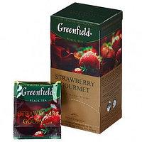 Чай Greenfield Strawberry Gourmet черный, 25 пакетиков