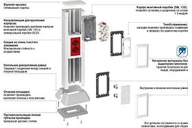 Колонны, мини-колонны и акссесуары