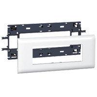 Суппорт/Рамка 6 модулей, DLP Крышка 85мм
