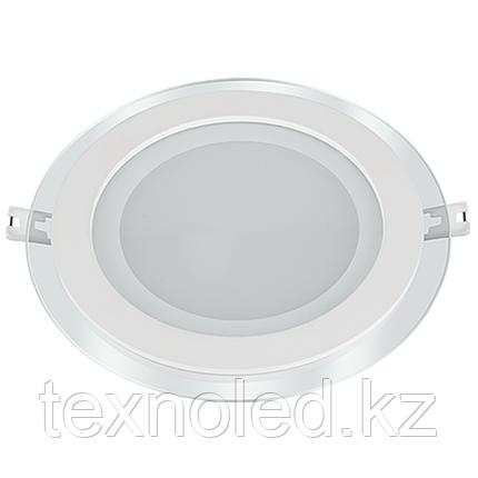 Потолочный светильник круглый 15W со стеклом, фото 2
