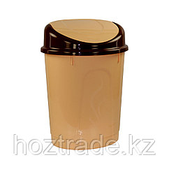 Ведро для мусора с плавающей крышкой 8 л Альтернатива
