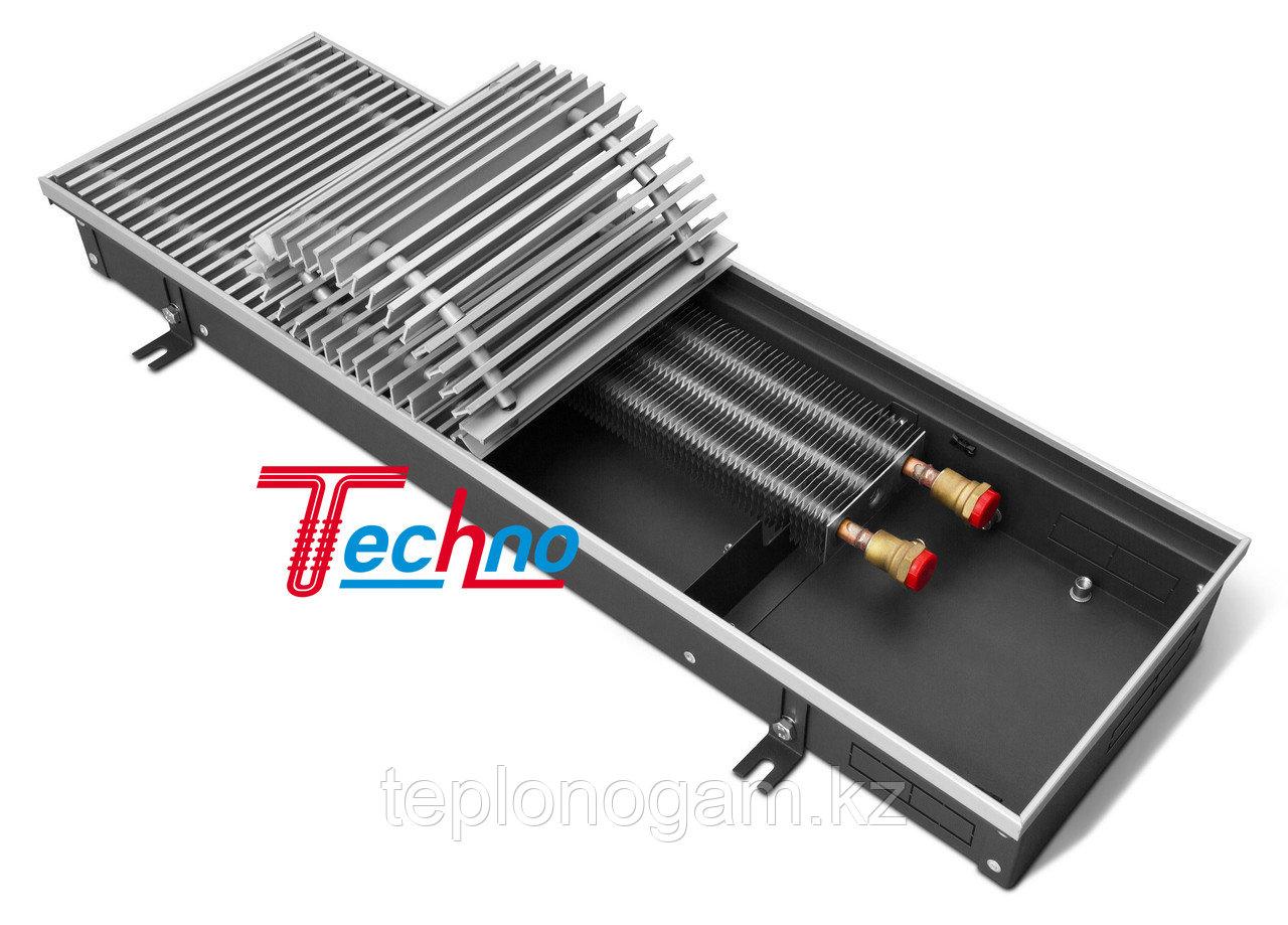 Конвектор внутрипольный (встраиваемый) с естественной конвекцией - Techno Usual KVZ 250-85-2300