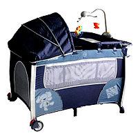 Манеж-кровать ARIA ДРУЖОК (JEANS) PITUSO , фото 1