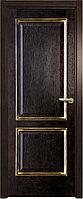 Межкомнатная дверь Вельми черный дуб патина
