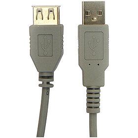 Кабель USB 2.0 A-A (m-f) удлинительный, 1.8м,