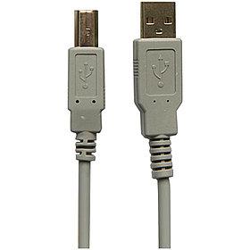 Кабель USB 2.0 A-B, 1.8м, серый