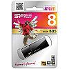 Память SiliconPower USB Flash   8GB USB3.0 Blaze B05 черный