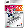 Память SiliconPower USB Flash  16GB USB2.0 Ultima II Silver хром (металл.корпус)