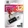 Память SiliconPower USB Flash  32GB USB2.0 Ultima II черный (металл.корпус)