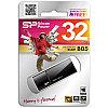 Память SiliconPower USB Flash  32GB USB3.0 Blaze B05 черный