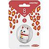 Память Smart Buy USB Flash   8Gb Кошка, белый