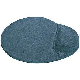 Коврик для мыши Defender EasyWork, серый, гелевая подушка, полиуретан, покрытие тканевое