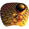 Коврик для мыши Defender пластиковый TURBO, 210*175*1.2мм, ассортимент