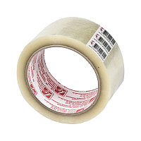 Клейкая лента упаковочная 48 мм*66 м 40 мкм ШК