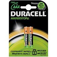 Аккумулятор HR03 DURACELL 750mAh 2BL
