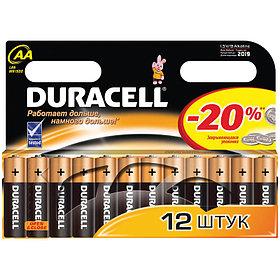 Батарейка LR06 DURACELL BASIC LR06 12BL