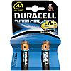 Батарейка LR06 DURACELL TURBO MAX LR06  2BL