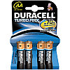 Батарейка LR06 DURACELL TURBO MAX LR06  4BL