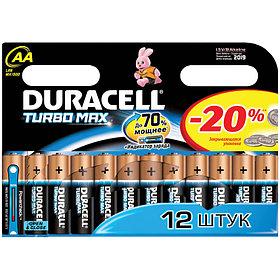 Батарейка LR06 DURACELL TURBO MAX LR06 12BL