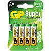 Батарейка LR06 GP Super Alkaline 15A BC4