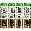 Батарейка LR06 GP Super Alkaline 15A SB4
