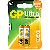 Батарейка LR06 GP Ultra Alkaline 15AU BC2