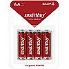 Батарейка SmartBuy LR06 BC4