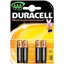 Батарейка LR03 DURACELL BASIC LR03  4BL