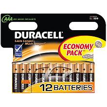 Батарейка LR03 DURACELL BASIC LR03 12BL