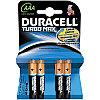 Батарейка LR03 DURACELL TURBO MAX LR03  4BL