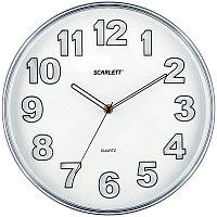 Часы настенные ход плавный, офисные SCARLETT SC-55K